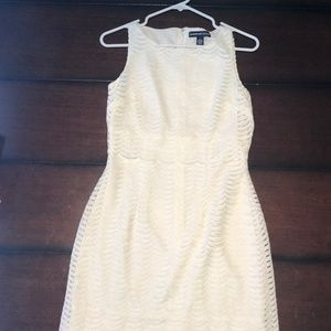 White Women's Dress (Size 4) American Living